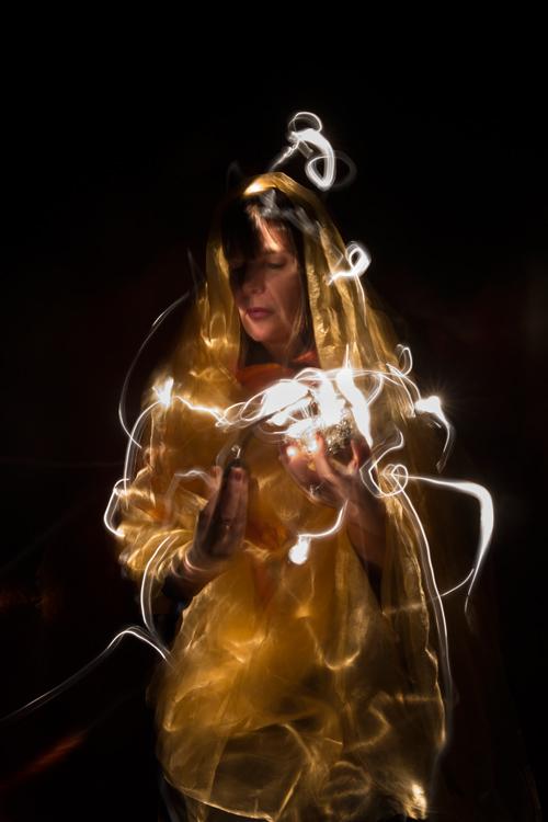 Silja Korn, Lightpainting