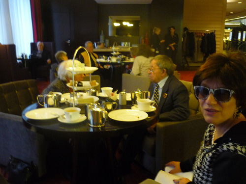 Silja Korn im Hotel Waldorf Astoria