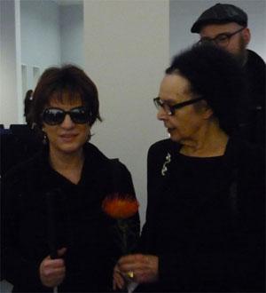 Silja Korn mit Dorothy Iannone