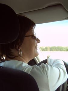 Silja fährt Auto