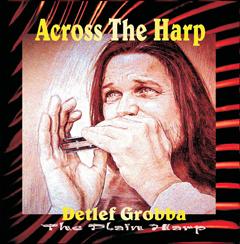 Detlef Grobba Across the Harp COVER VORDERE SEITE