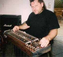 Detlef Grobba Across the Harp  Inlayausschnitt