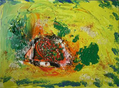 Silja Korn, das Bild Halbblick