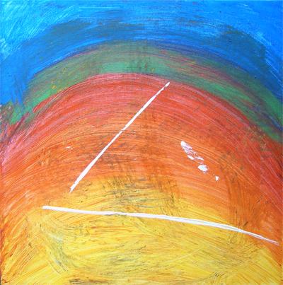 Regenbogenblitz