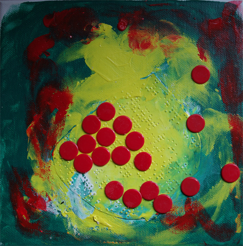 Silja Korn, Braille mit Punkten