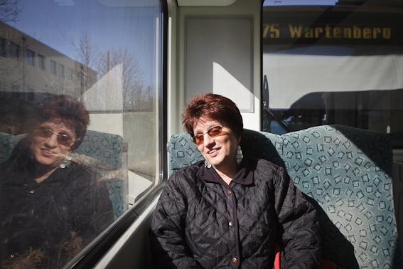 Silja in der S-Bahn