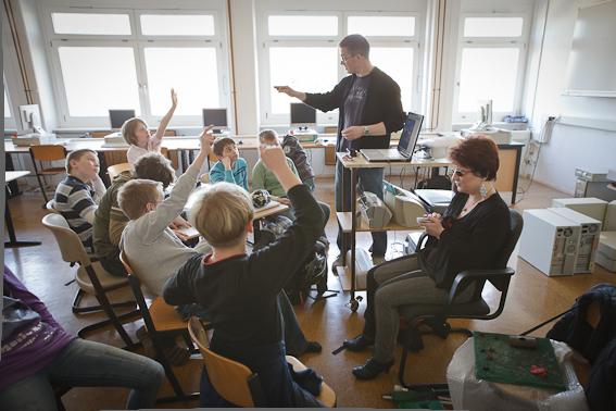 Silja in der Schule