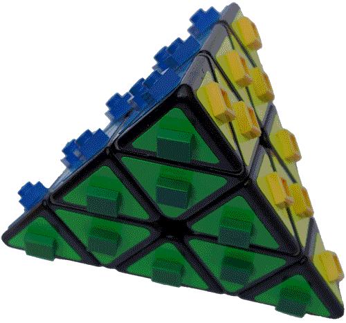 Zauberpyramide für Blinde und Sehbehinderte, Silja Korn