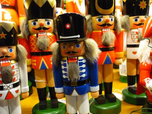 Silja Korn, Nussknacker auf dem Weihnachtsmarkt