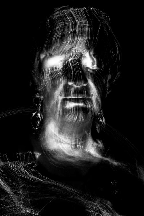 Silja Korn, Lichtmalerei Portrait
