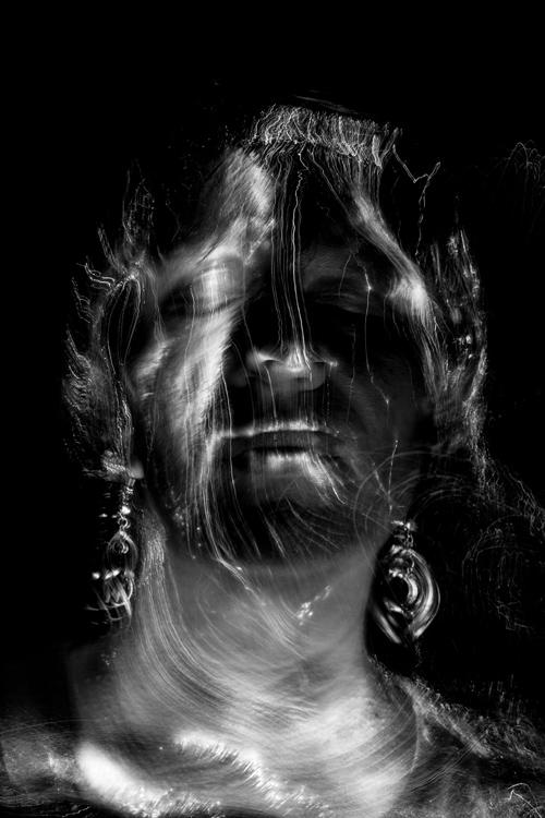 Silja Korn, Lichtmalerei, Portrait