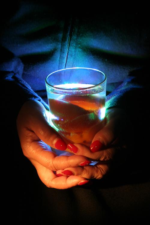 Lightpainting Foto Hand