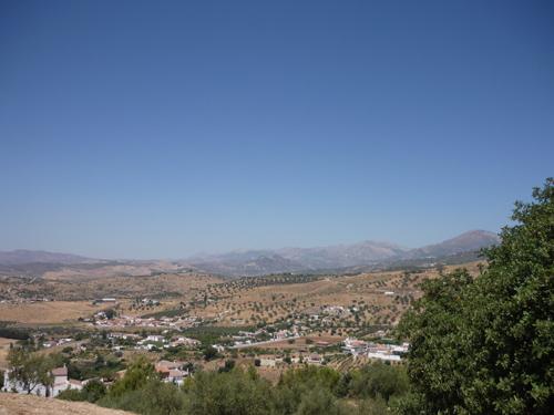 Silja Korn, Umgebung Malaga