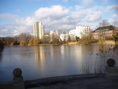 Silja Korn, Häuser am Lietzensee