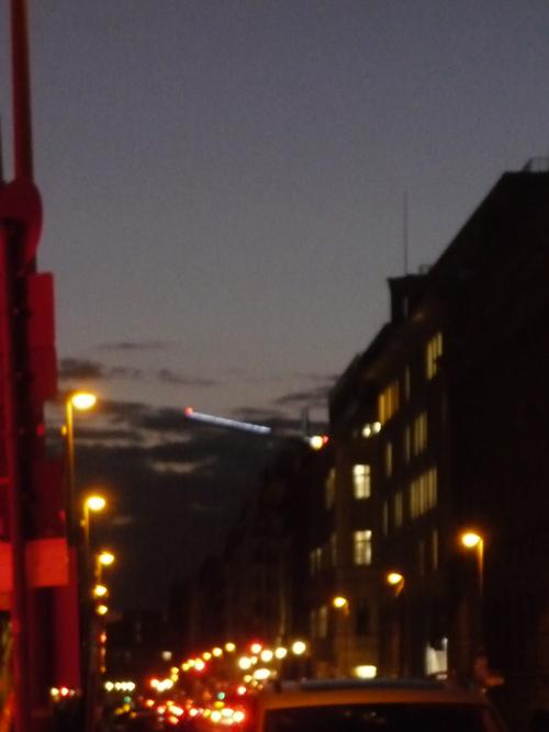 Silja Korn, Berlin bei Nacht