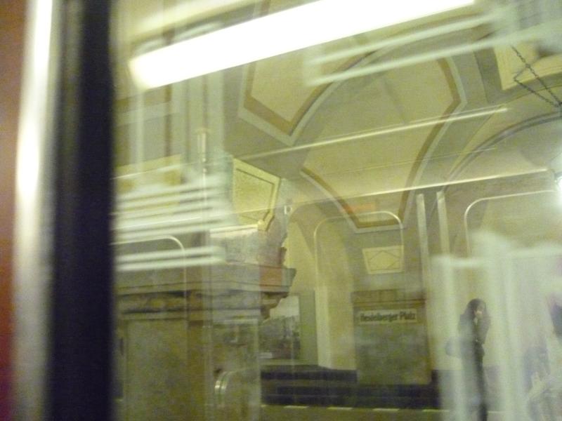 Gespiegelte Linien in der U Bahn
