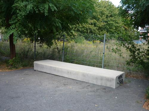Mauerrundgang Bernauer Str., Silja Korn