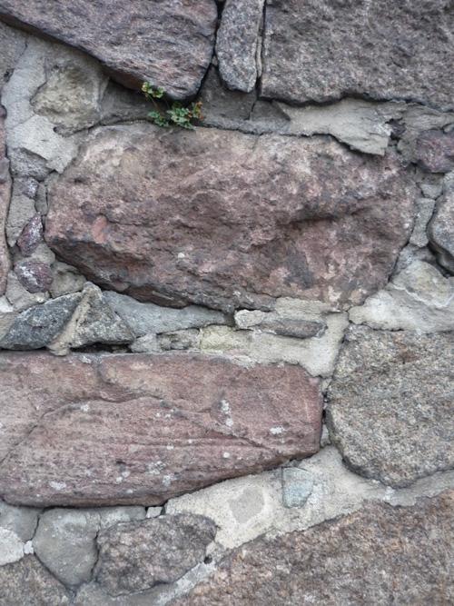 Bruchstein Mauer
