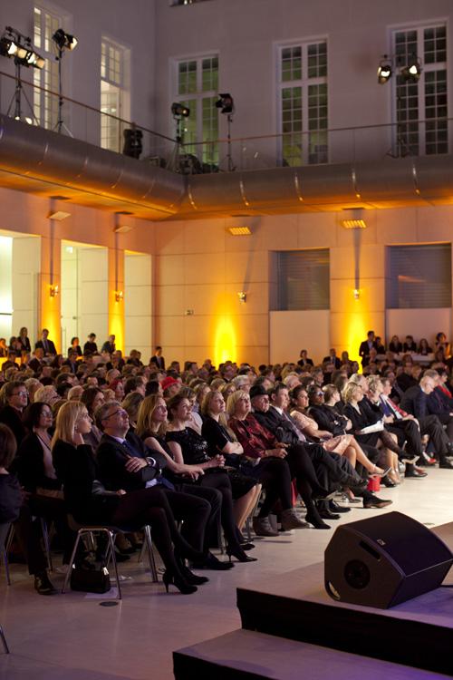 Silja Korn auf der Hörfilmpresverleihung 2015 in Berlin