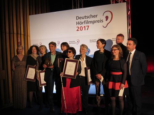 Silja Korn bei der Hörfilmpreisverleihung 2017