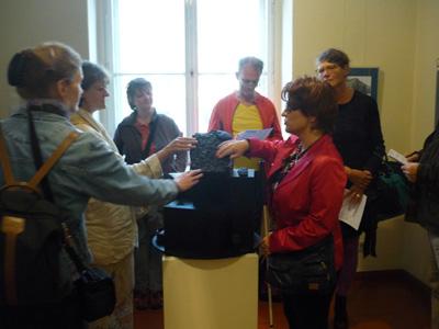 Silja Korn, Klangkunst Installation im Mitte Museum
