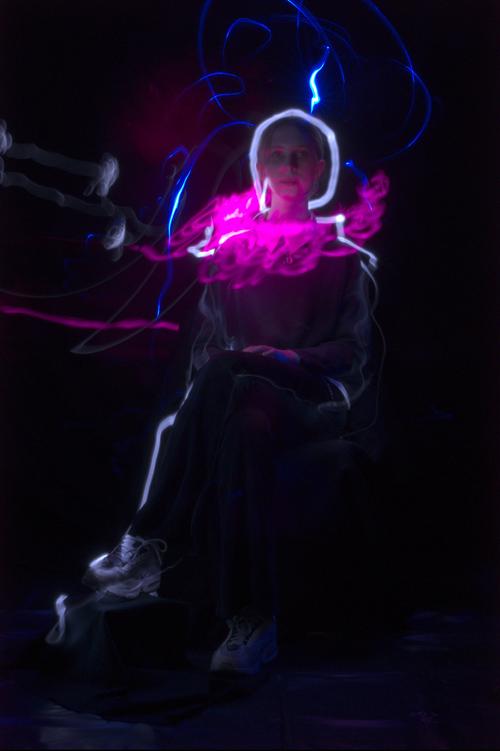 Lightpainting, Celia