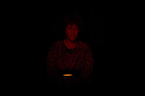 Silja Korn, mit Licht malen