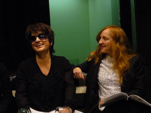 Silja Korn und Brigitte Hobmeier