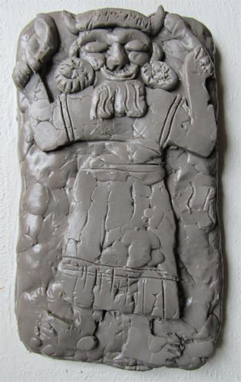 Der Wettergott - Skulptur - Silja Korn