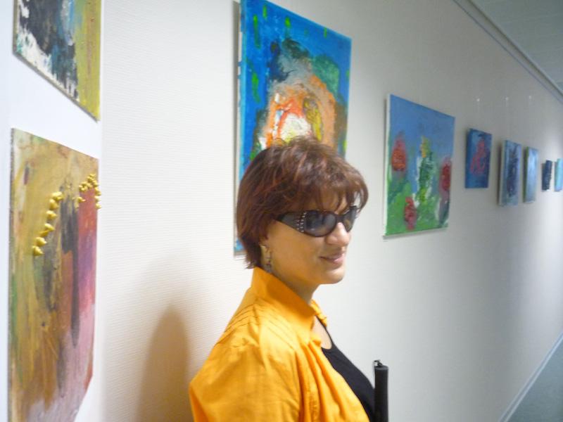 Ausstellung im Rathaus Ahrenfelde - Silja Korn