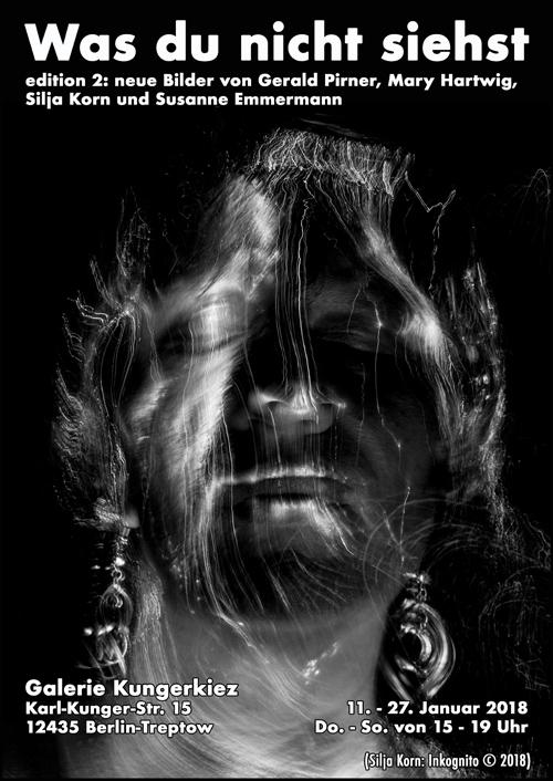 Silja Korn, Portrait, Plakat Aussstellung