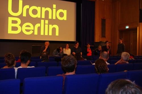 Silja Korn, Filme und Puplikumsdiskussion in der Urania